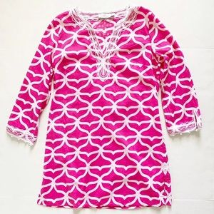 Vineyard Vines Whale Tale Swim Coverup Tunic